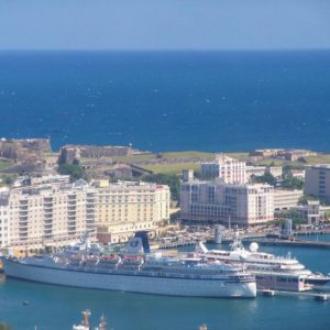 San Juan, Puerto Rico - When taking a cruise, Puerto Rico does not require a passport for U.S. citizens. However, you'll still need your Passport for cruises that stop at International Ports. It also should be noted that U.S. citizens who travel by air to the Caribbean must have a passport.